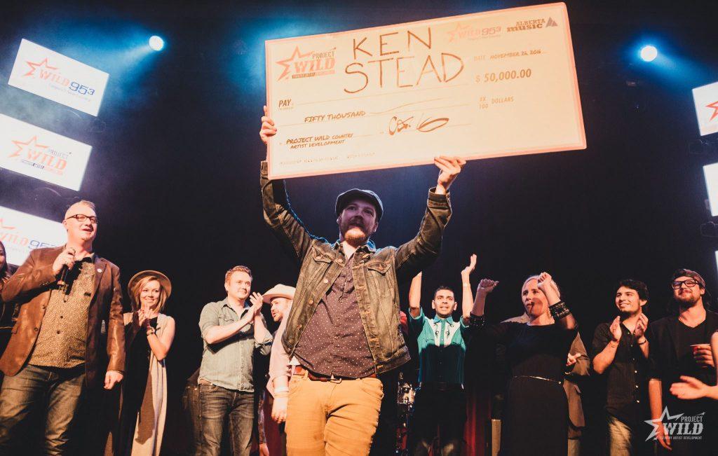 Ken Stead winner