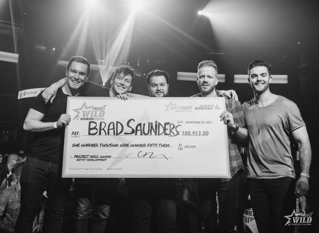 Brad Saunders winner