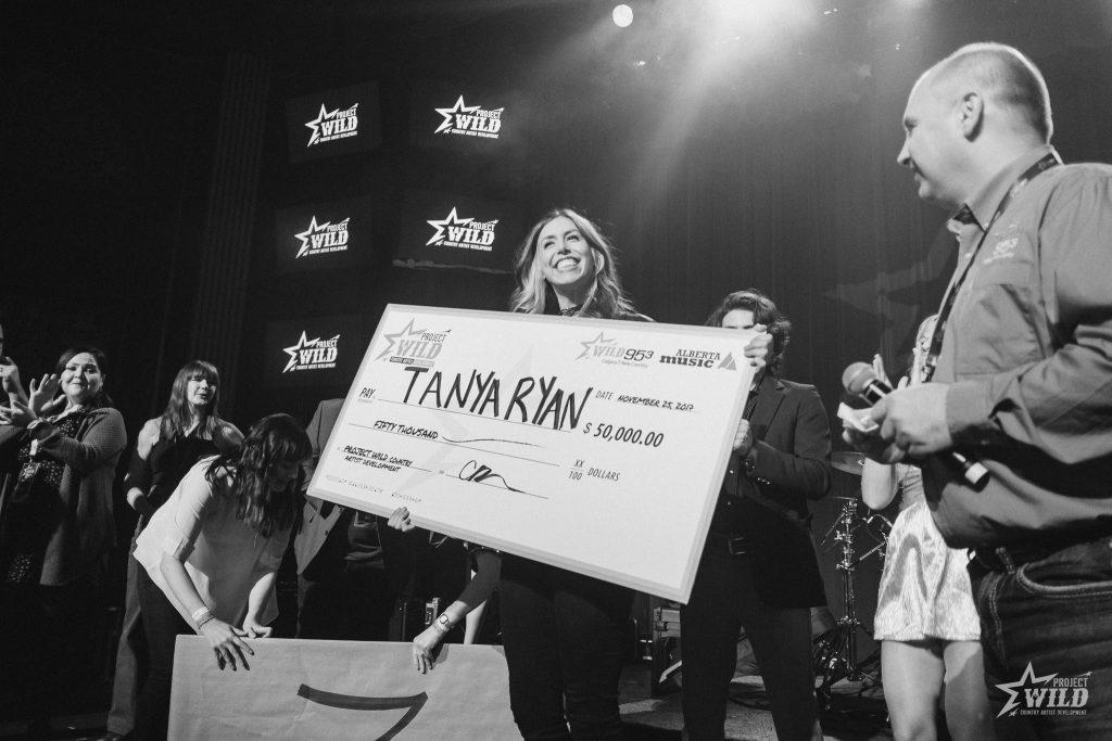 Tanya Ryan winner