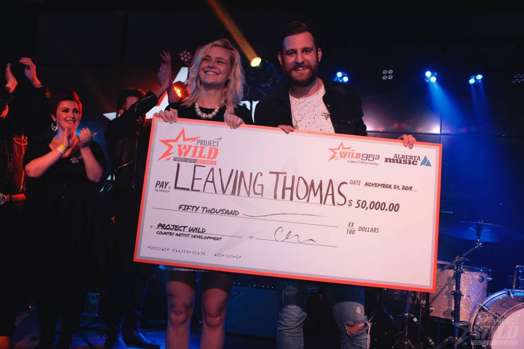 Leaving Thomas winner