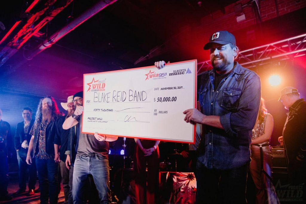 Blake Reid Band winner