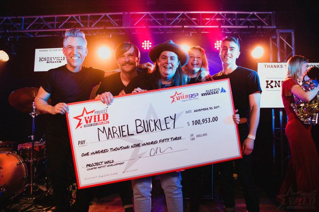 Mariel Buckley Winner
